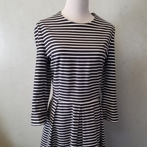 Gap 3/4 sleeve Striped dress